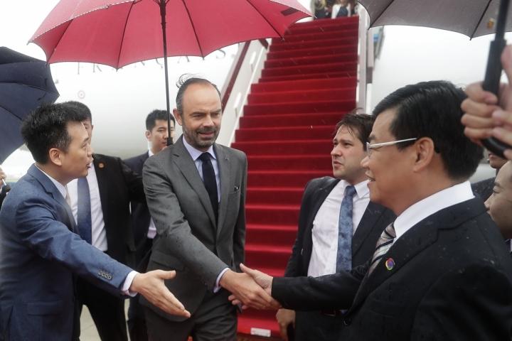 Chine : visite des installations industrielles et de transports