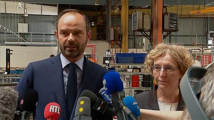 Réforme du travail : visite de l'équipementier automobile Telma à Saint-Ouen l'Aumône