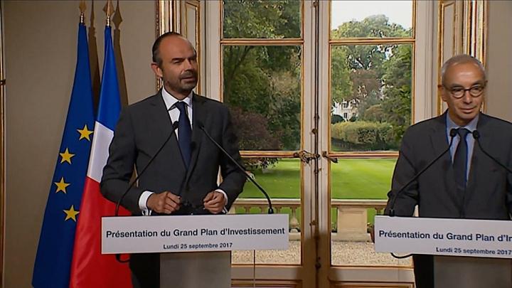 Présentation du Grand Plan d'Investissement par le Premier ministre
