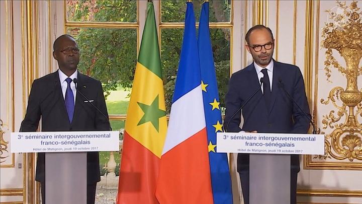 Séminaire intergouvernemental Franco-Sénégalais