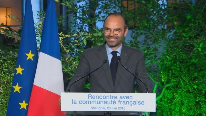 Chine : discours devant la communauté française