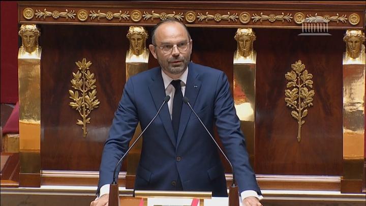 Discours d'Édouard Philippe à l'Assemblée nationale en réponse aux motions de censure