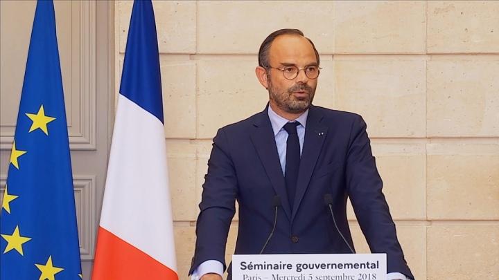 """Édouard Philippe : """"Nous allons maintenir le cap"""""""