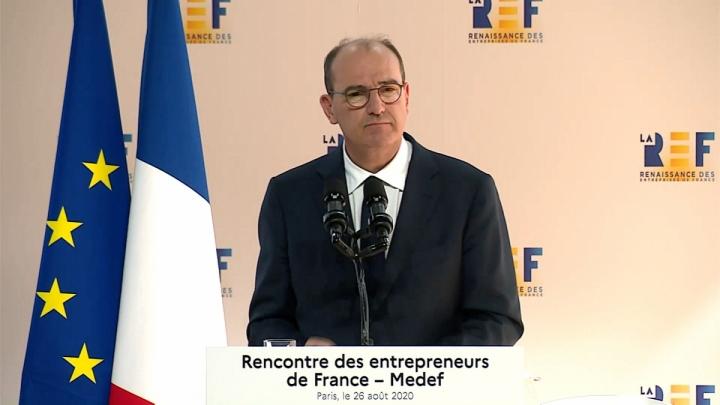 Discours de Jean Castex lors de la rencontre annuelle des entrepreneurs de France