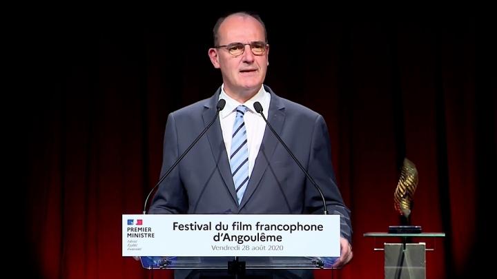 Intervention de Jean Castex en ouverture du Festival du film francophone d'Angoulême