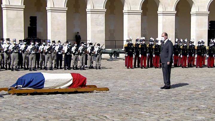 Hommage au Compagnon de la Libération Edgard Tupët-Thomé