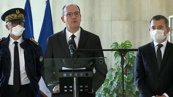 Déplacement du Premier ministre dans les Alpes Maritimes