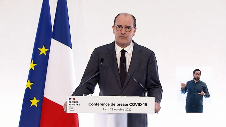 # COVID 19 : conférence de presse du Premier ministre Jean Castex