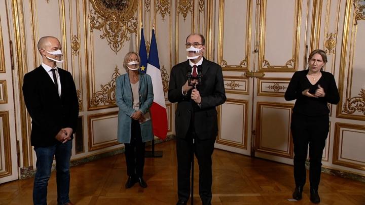 Comité interministeriel du handicap : prise de parole du Premier ministre Jean Castex, et Sophie Cluzel