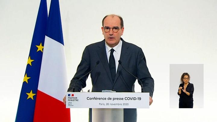 Conférence de presse sur les mesures contre la Covid-19, le 26 novembre 2020