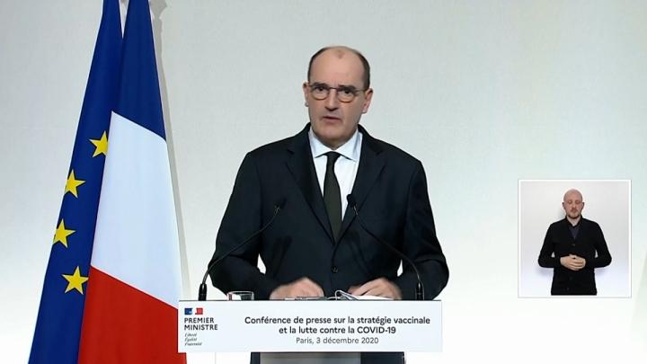 Conférence de presse sur les mesures contre la Covid-19, le 3 décembre 2020