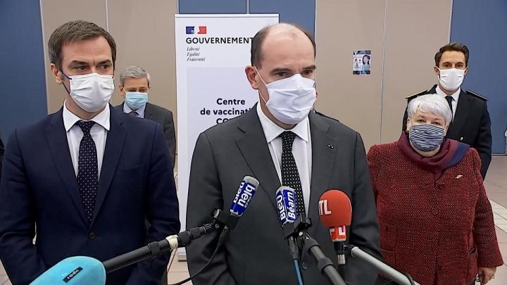 Déclaration du Premier ministre depuis le centre de vaccination de Tarbes
