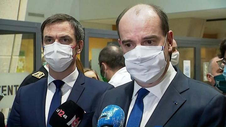 Vaccination anti-covid-19 | Le Premier ministre au centre hospitalier de Metz-Thionville