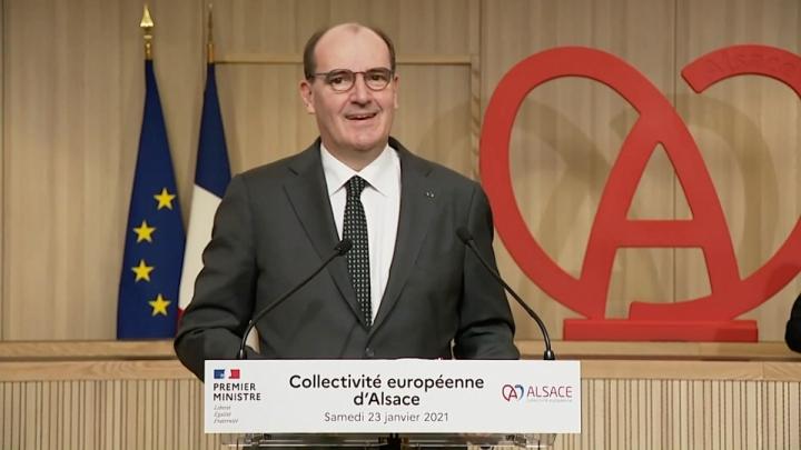 Discours du Premier ministre devant les élus de la collectivité européenne d'Alsace