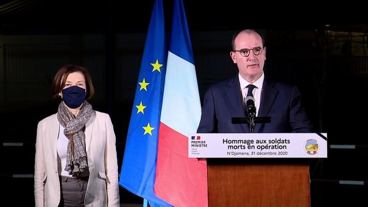 Hommage du Premier ministre aux soldats morts en opération, depuis N'Djamena au Tchad