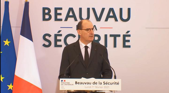 Jean Castex a ouvert le Beauvau de la sécurité