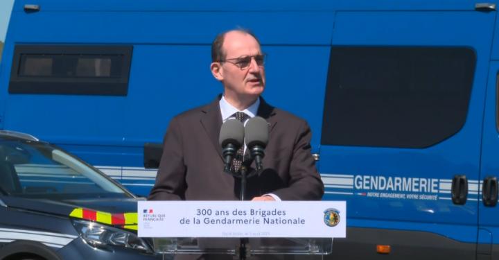Jean Castex célèbre le tricentenaire des brigades de gendarmerie.