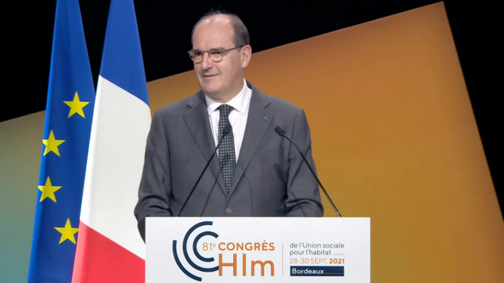 Les annonces du Premier ministre Jean Castex au congrès HLM
