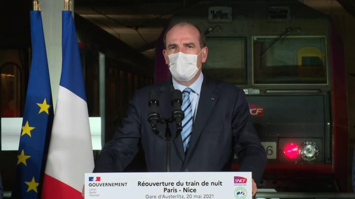 Train de nuit Paris-Nice : intervention du Premier ministre depuis la gare de Paris-Austerlitz