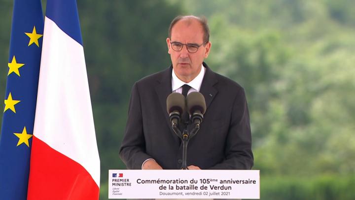Commémoration du 105e anniversaire de la bataille de Verdun