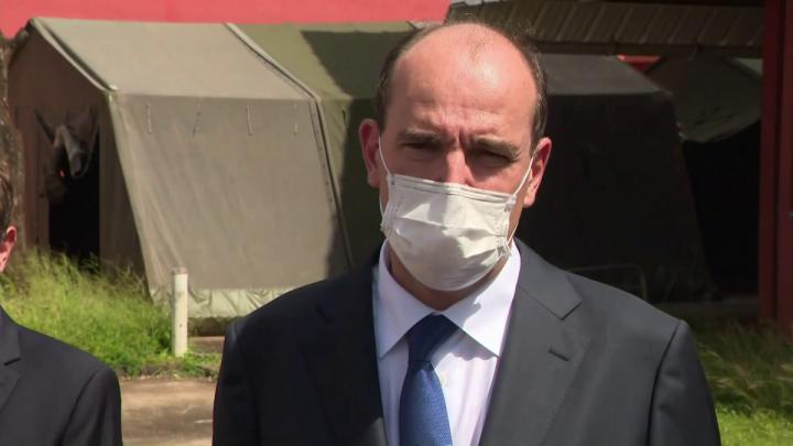 Jean Castex en Guyane : déclaration depuis le centre hospitalier Andrée-Rosemon