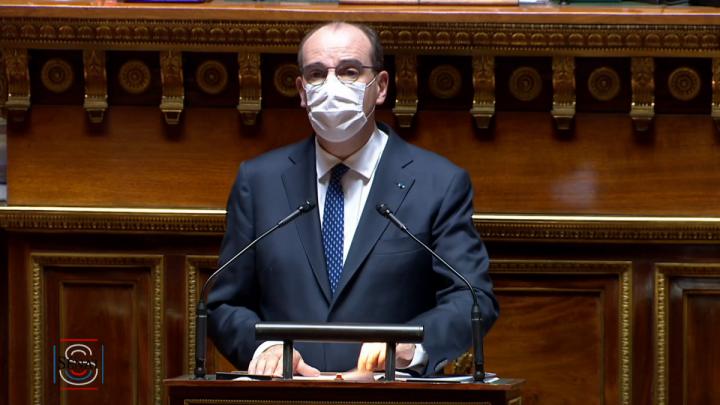 Déclaration du Premier ministre Jean Castex devant le Sénat