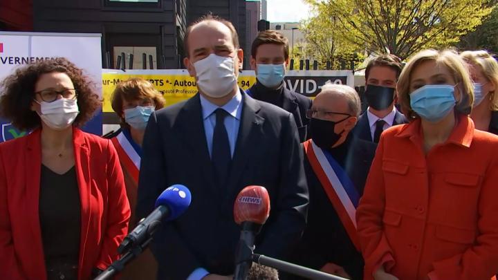 10 millions de Français vaccinés : Jean Castex s'exprime depuis Nogent-sur-Marne