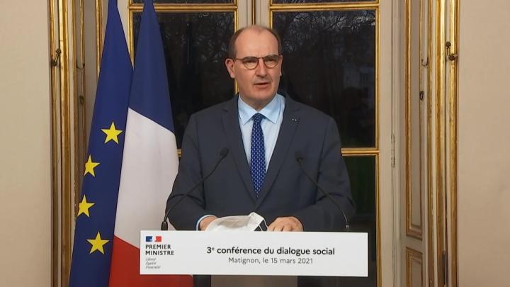 Conférence du dialogue social | Intervention du Premier ministre Jean Castex