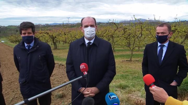 Soutien au secteur agricole touché par la vague de froid : déclaration de Jean Castex