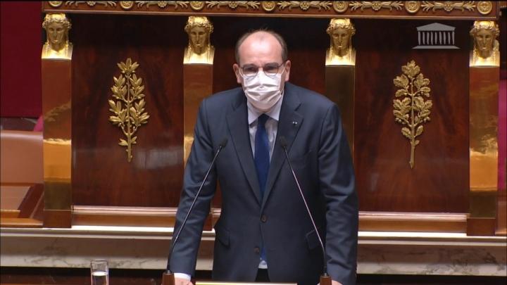 Élections régionales et départementales : intervention de Jean Castex devant l'Assemblée nationale