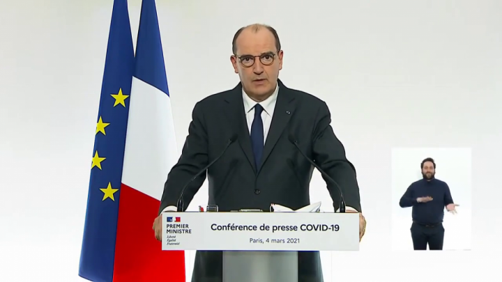 Conférence de presse du Premier ministre sur les mesures contre la Covid-19