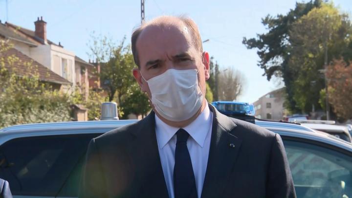 Déclaration du Premier ministre, Jean Castex, depuis le commissariat de Rambouillet