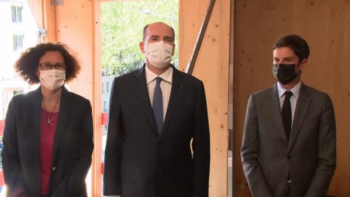 1 Md€  pour l'environnement et le logement : intervention de Jean Castex depuis Issy-les-Moulineaux