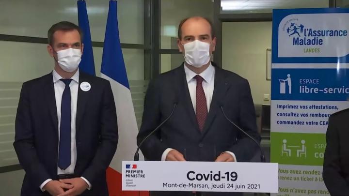 Déclaration du Premier ministre Jean Castex sur l'évolution de la situation sanitaire