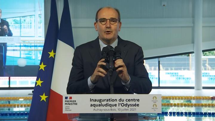 Centre aqualudique l'Odyssée : discours d'inauguration de Jean Castex