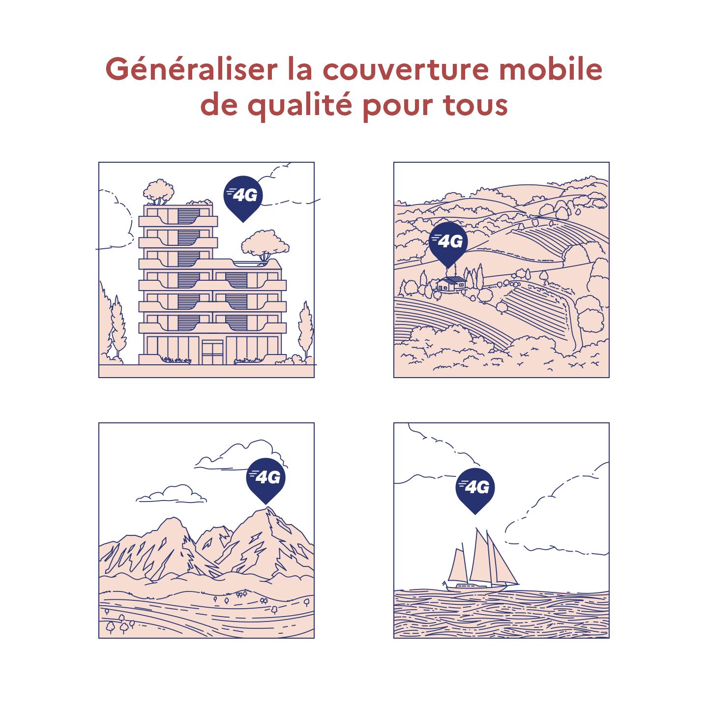 Généraliser la couverture mobile de qualité pour tous