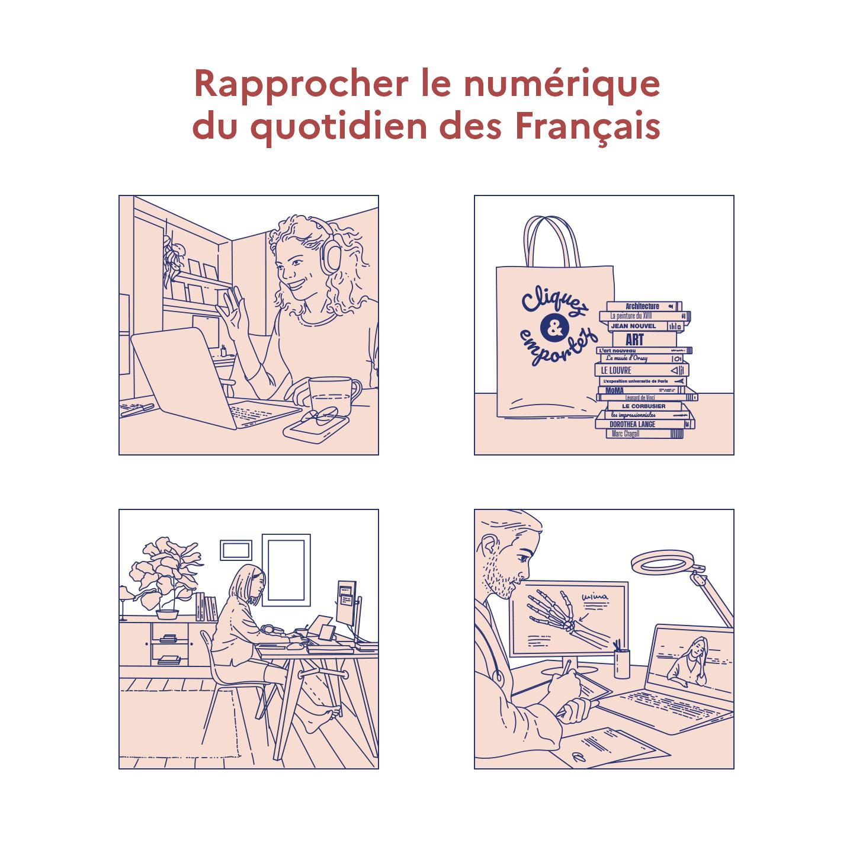 Rapprocher le numérique du quotidien des Français